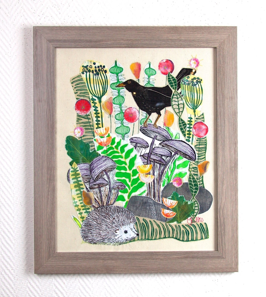 Forest Friends framed