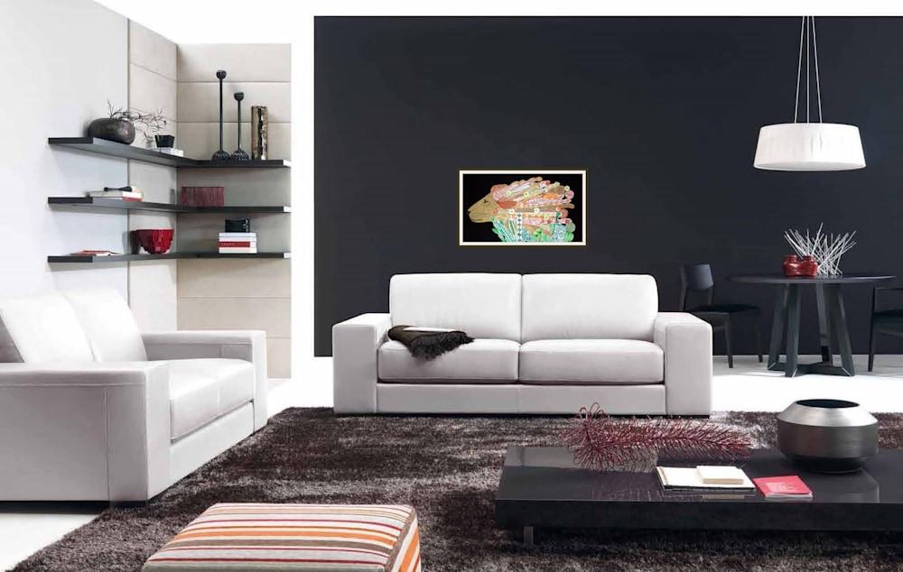 Leo lino collage interior