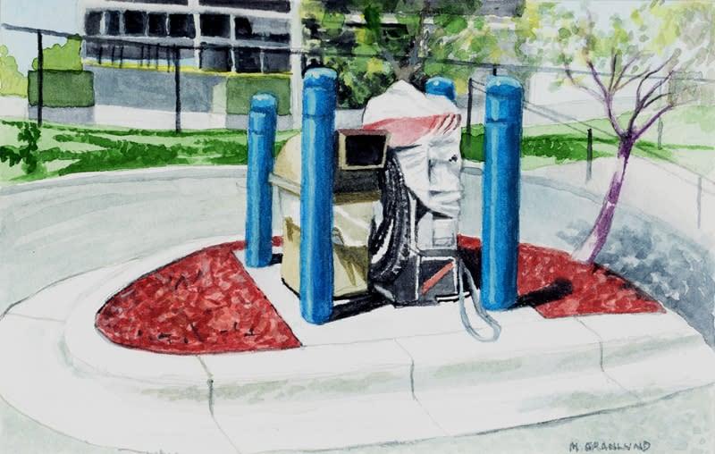 Broken Car Vac   Holiday Station, Mpls sm