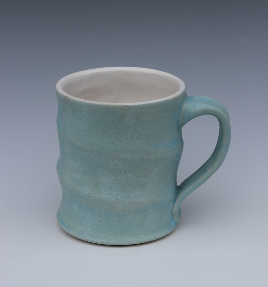 Traditional Blue Spiral Mug 2