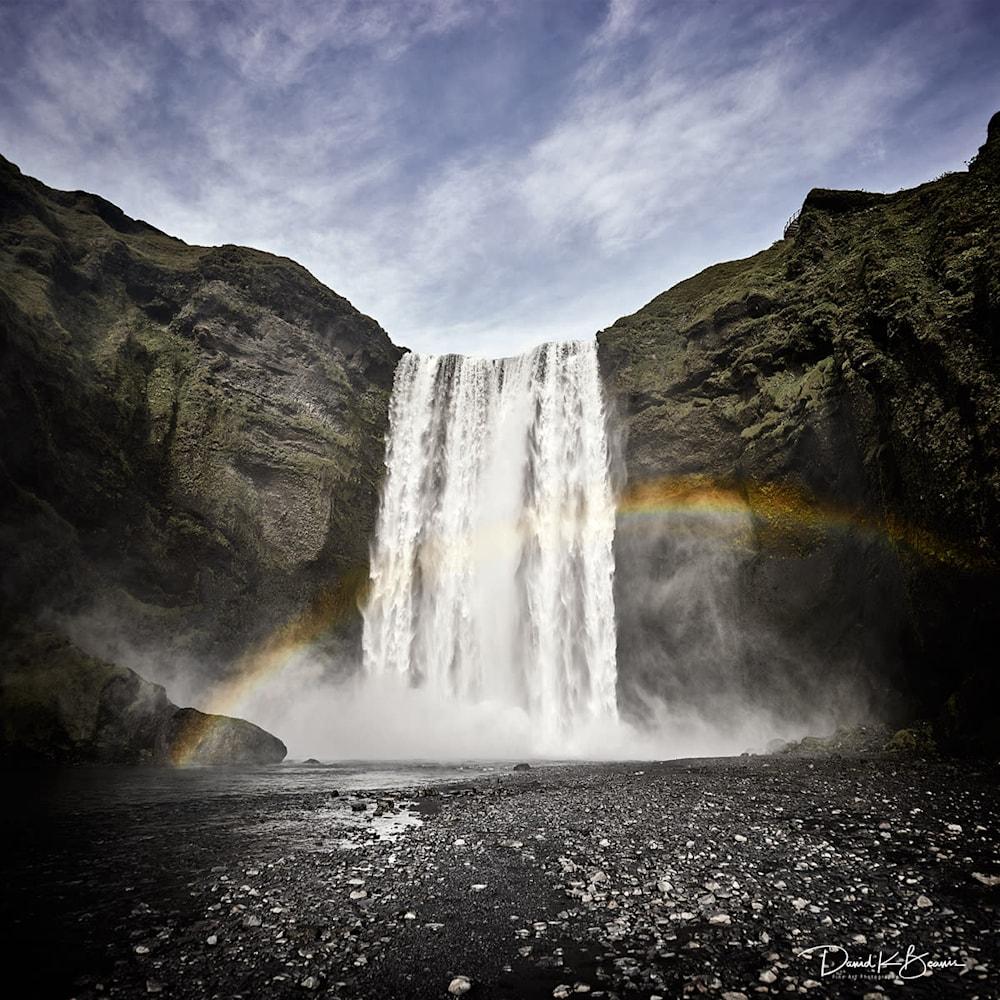 Skogafoss Waterfall Iceland xyxuiq