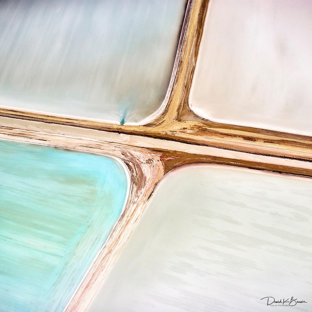 Salt Ponds Abstract nk4bgj
