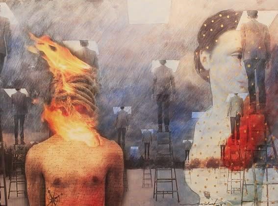 Act 1, Burning Bodies, Wael Darweish