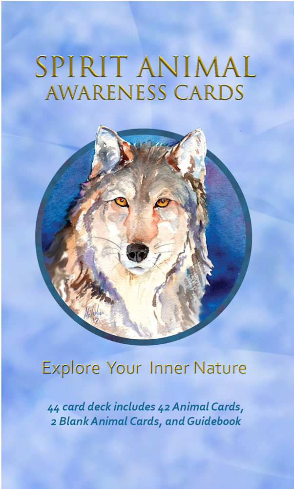 Spirit Animal Oracle Card Box front
