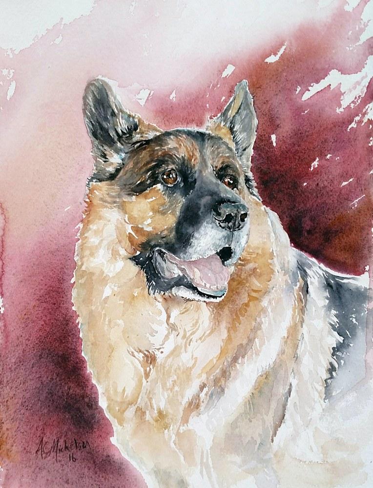 Cruiser dog portrait