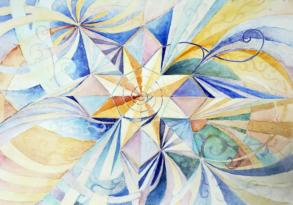 She Sees (Star Mandala 4)
