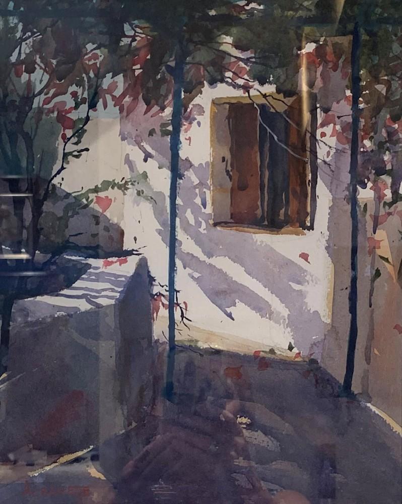 chuck albanese window in greece