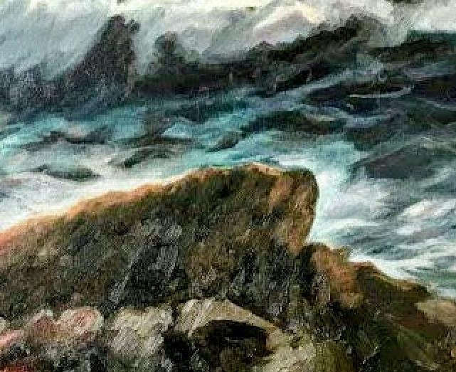 StormyOceanDetailsRock