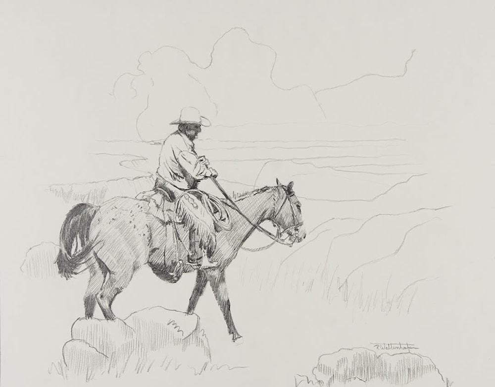 fall pasture check 11x14 a