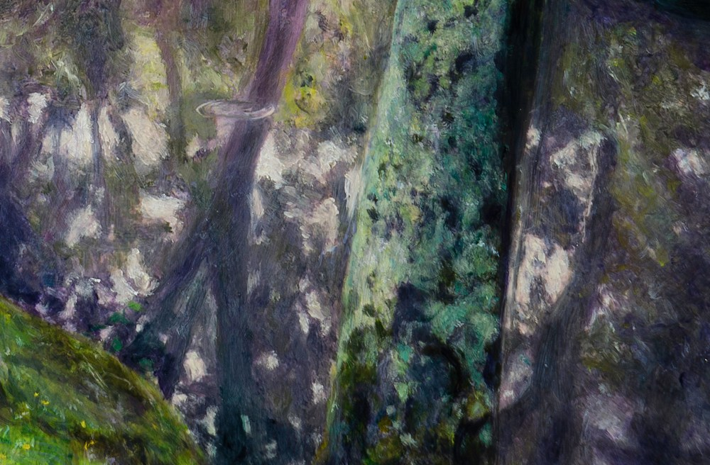 CAILLEBOTTE'S POND detail 1