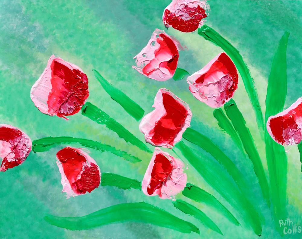 Broomstick Tulips