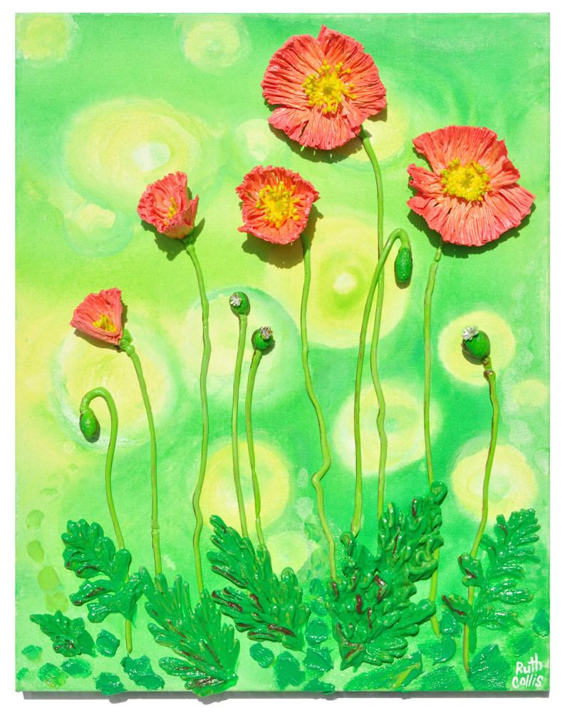 Crinkle Poppies
