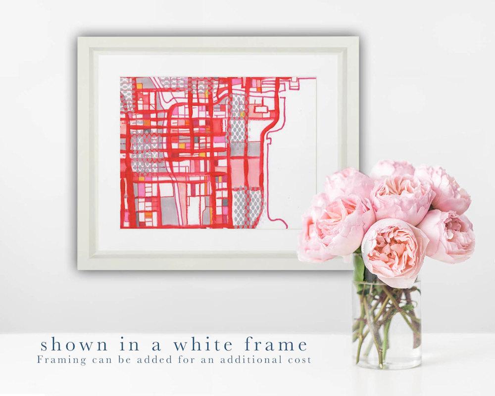 Loop wwhite frame
