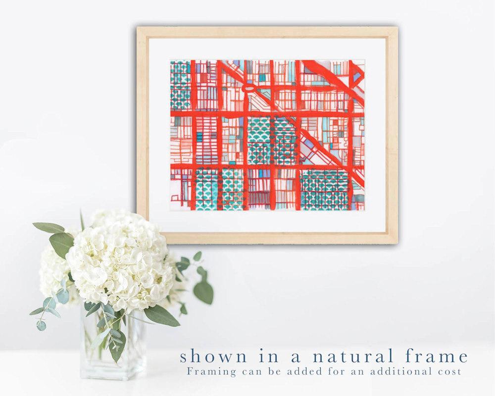 logan 32 natural frame