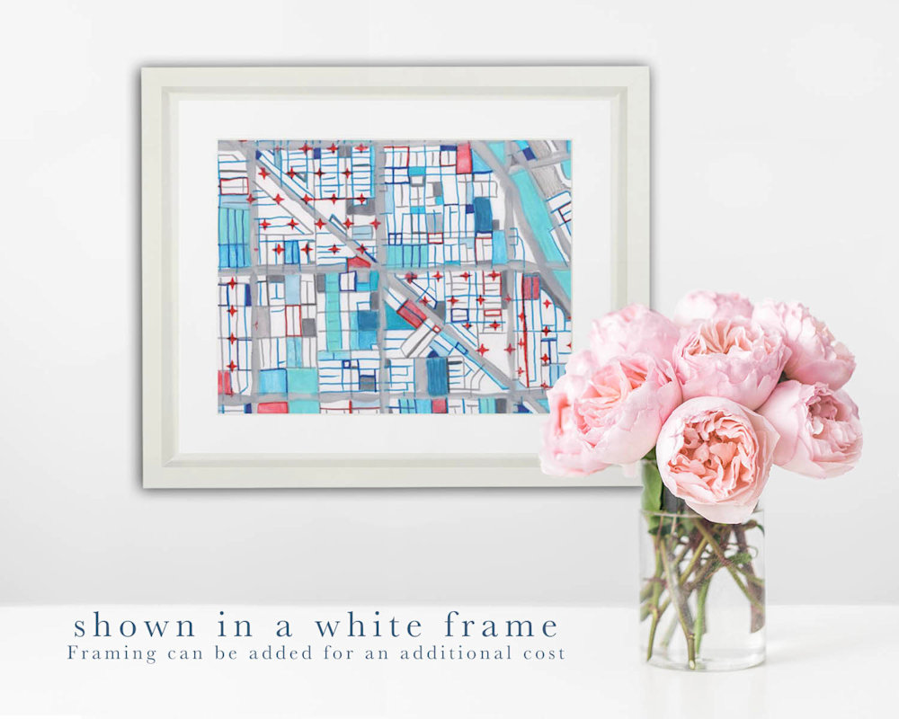 wicker pk white frame