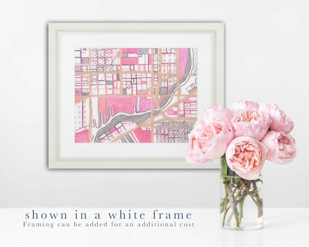 pilsen 2 white frame
