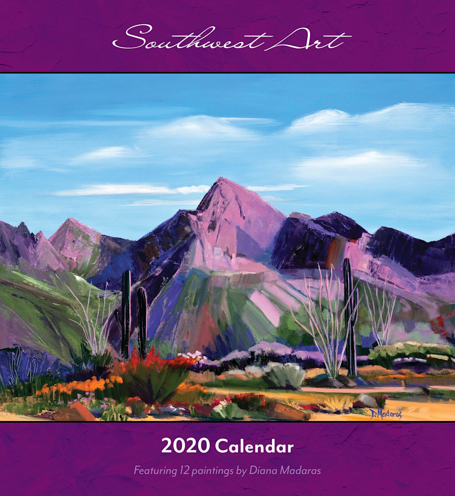 Southwest Art Wall Calendar 2020 Cover