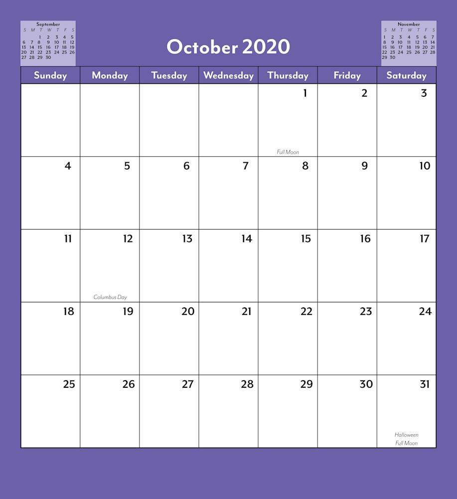 Southwest Art Wall Calendar 2020 Saguaro Van Gogh Pg 12
