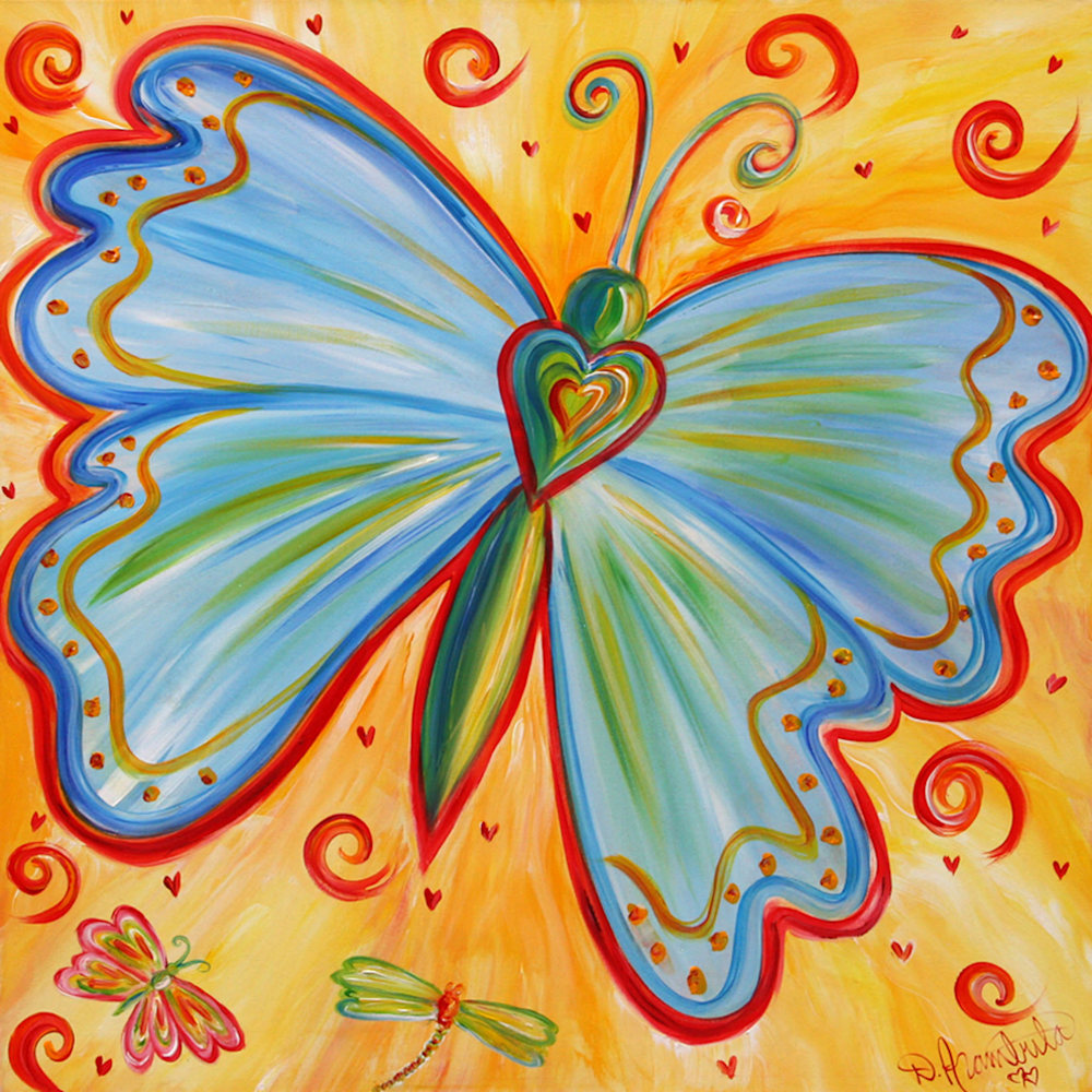 12x12 Butterfly Party