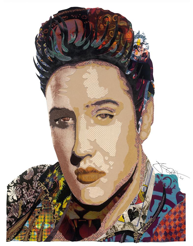 Elvis 11x14 signed