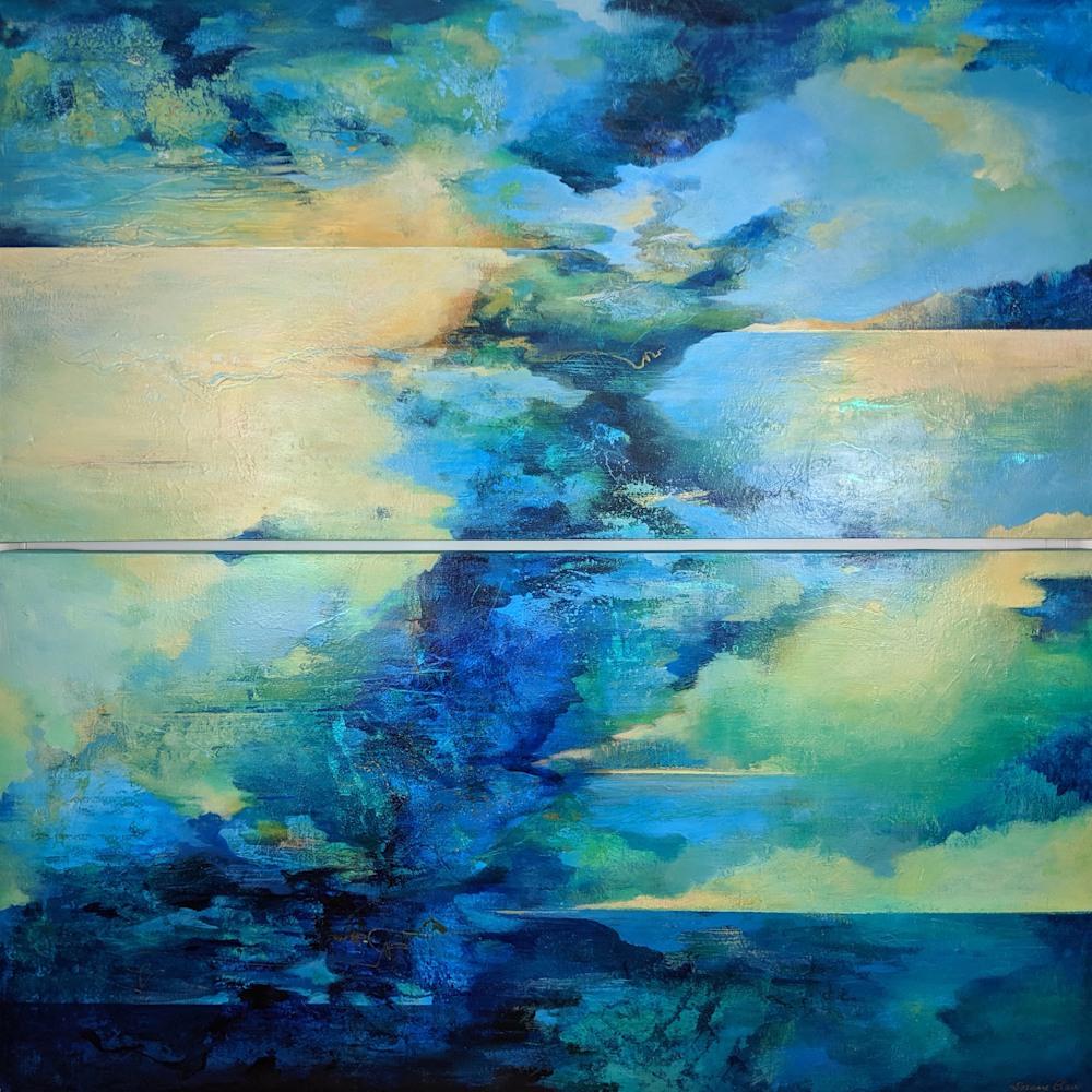 blue large landscape
