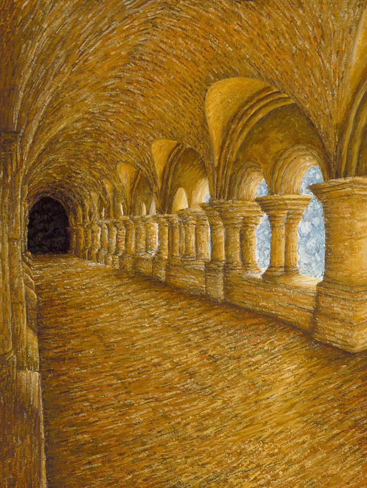 Gordon Cloitre, Abbaye de Fontenay 1000