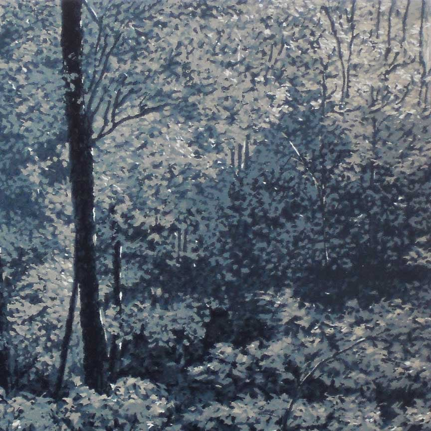 Forest in Moonlight detail 1