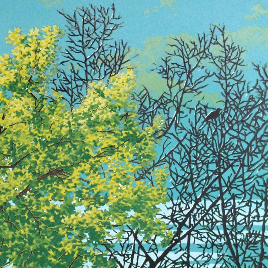 River Shroud Print Detail 1