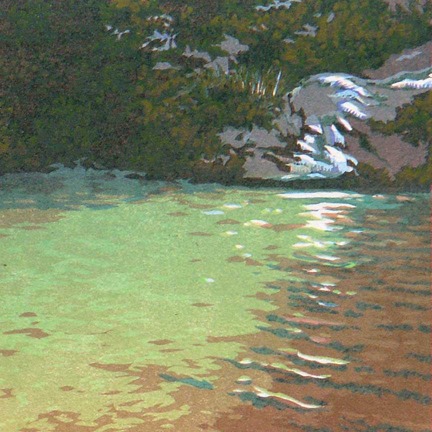 Shimmering Pool Detail 1