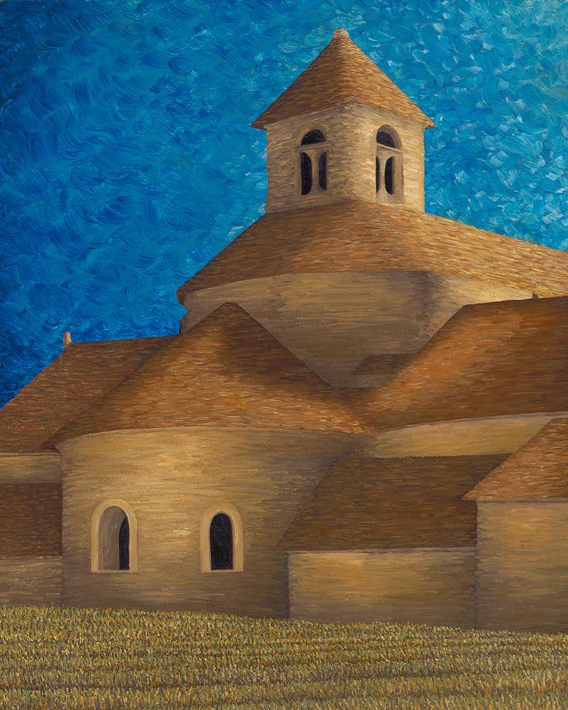 Gordon Abbaye de Senanque 1000
