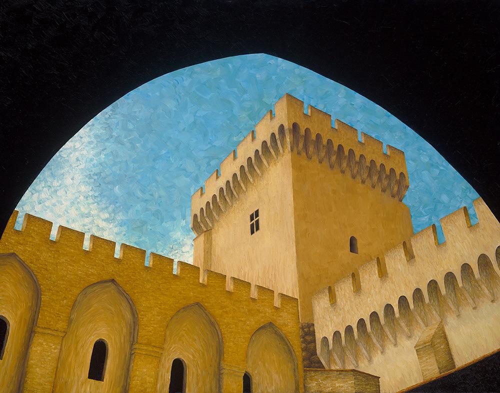 Gordon Palais de Papes en Avignon 1000