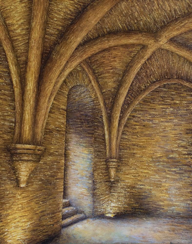 Gordon Sous sol de l Abbaye de Fontenay 1000
