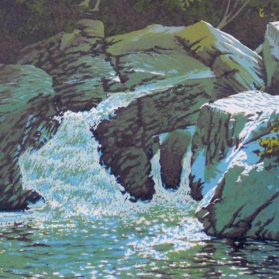 Summer Falls Detail 1
