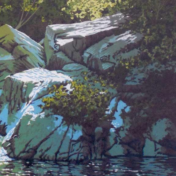 Summer Falls Detail 2