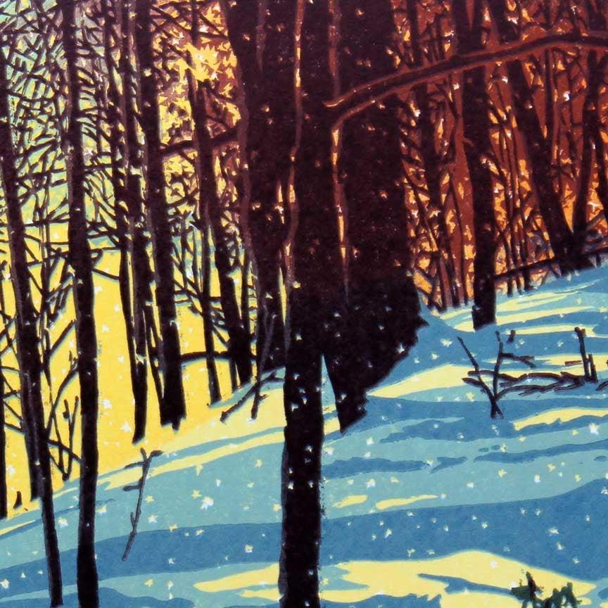 Sunshine Snowfall Detail 1