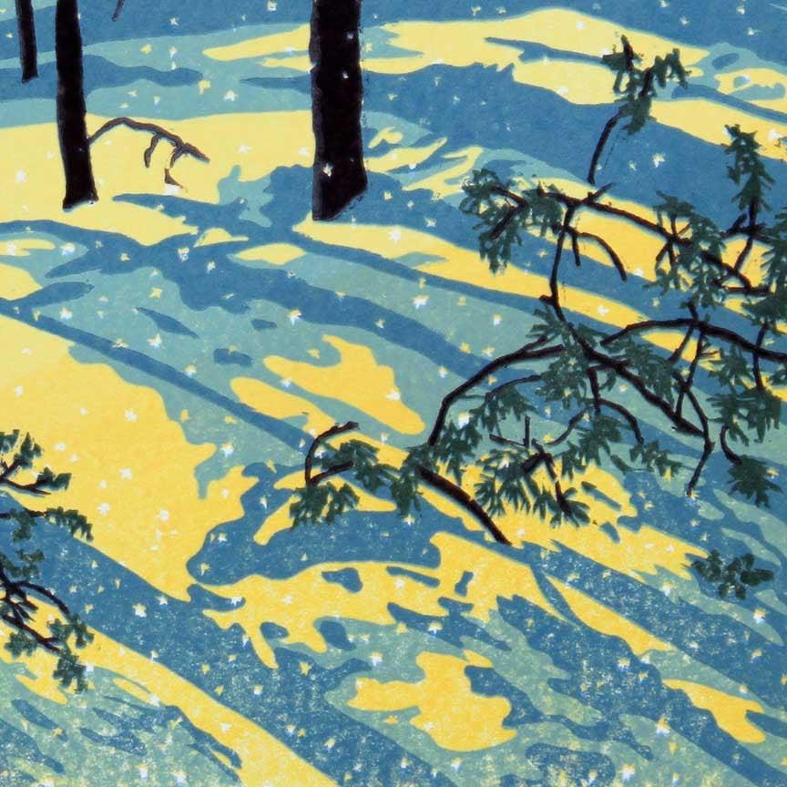 Sunshine Snowfall Detail 2
