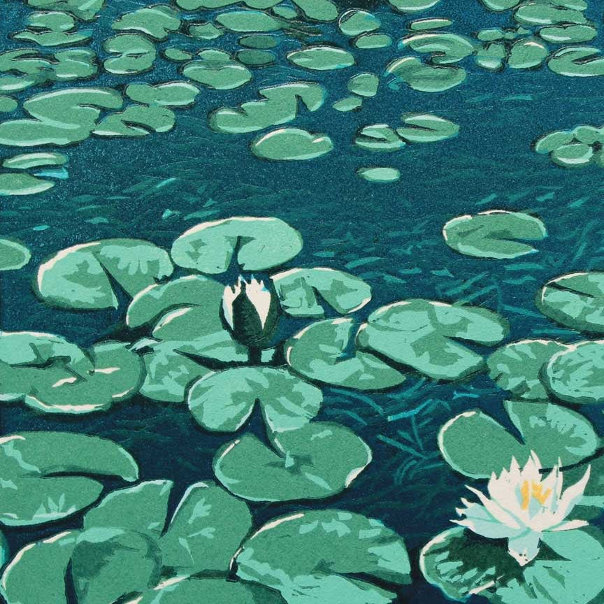 Water Lilies Detail 1