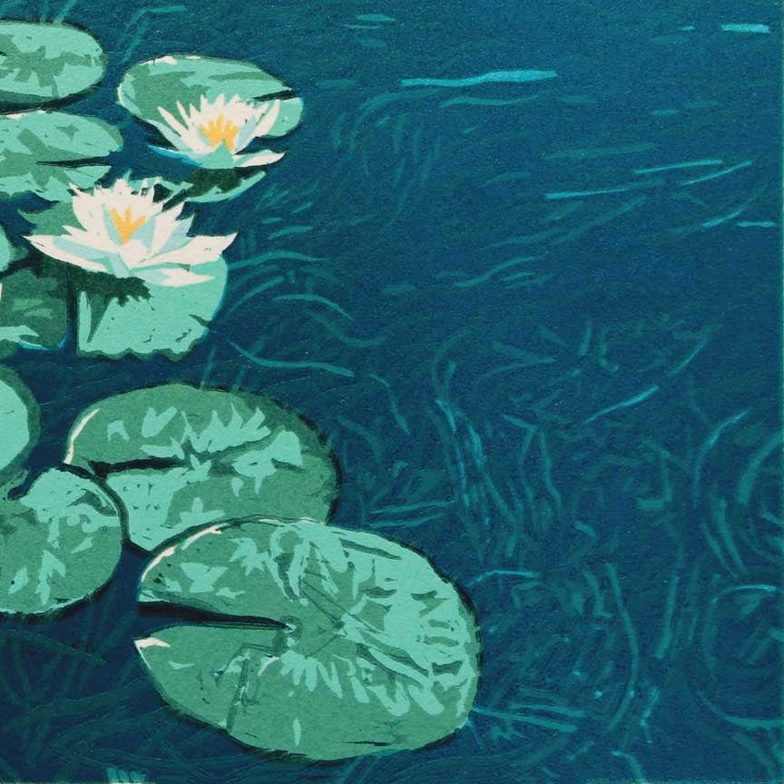 Water Lilies Detail 2