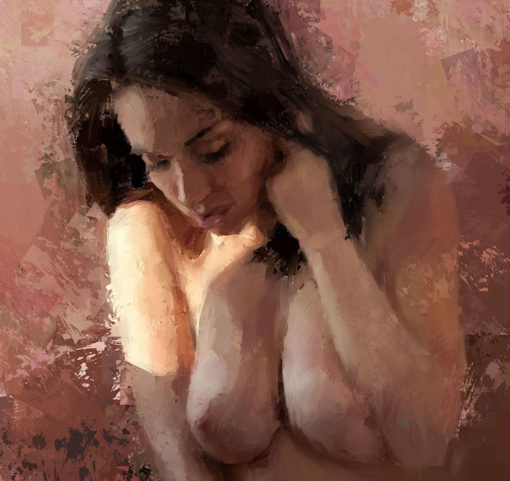 Pink Room Girl 1