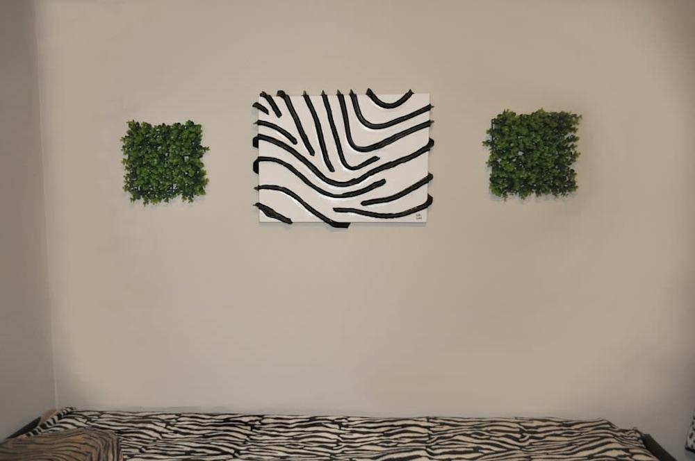 16 zebra stripes