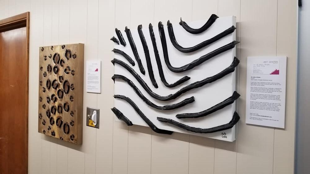 21 zebra stripes