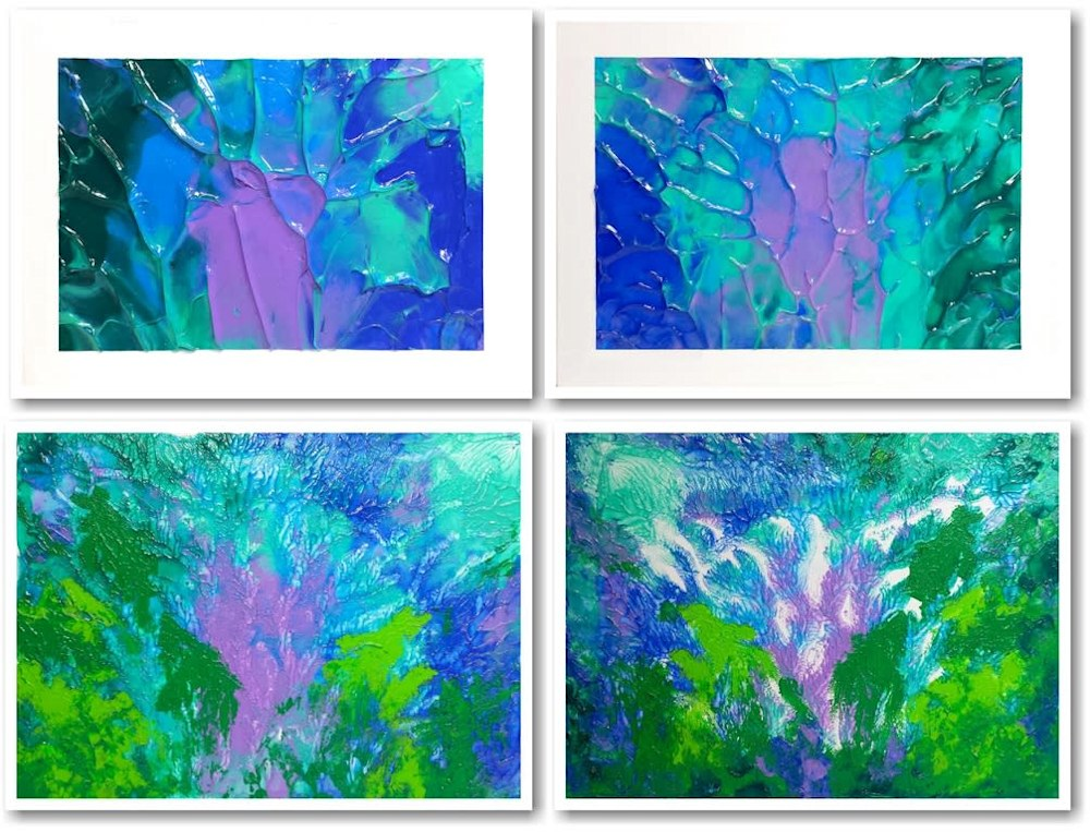 4 painting presses