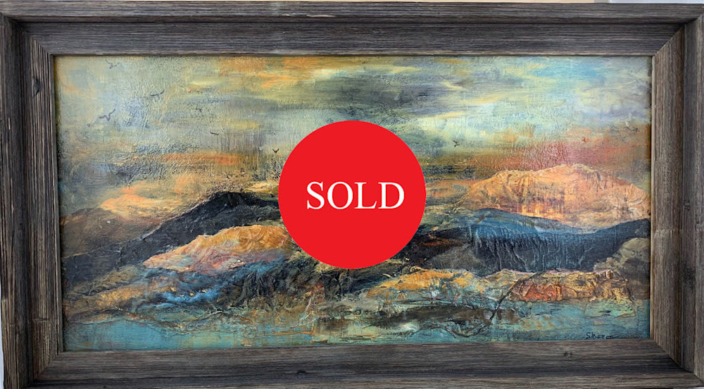 Sunset Mountains   sold