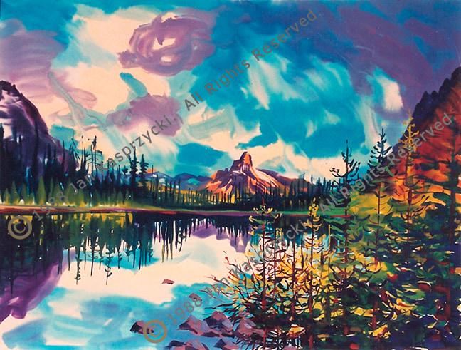 Cathedral Mtn Lake OHara wC