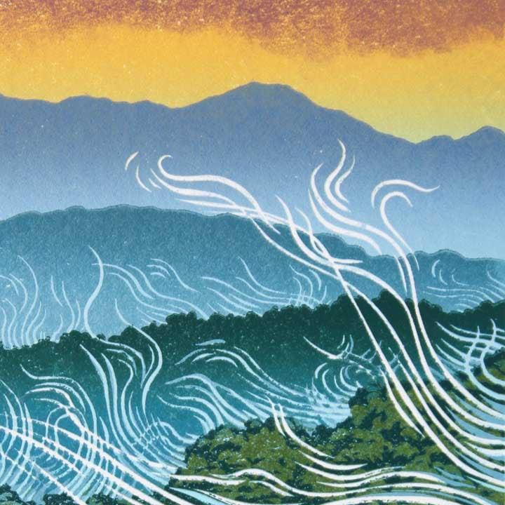 Blue Mountains detail 2