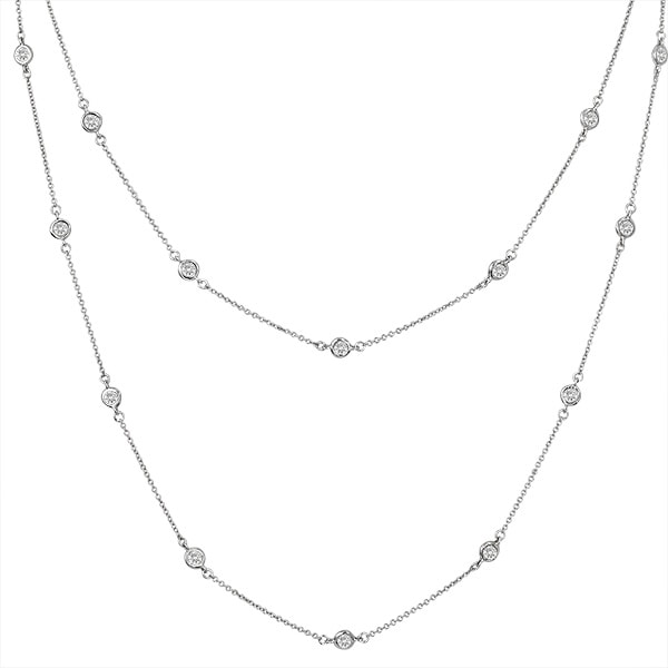 54 Inch 6 in 1 Necklace P10025 SVR a 210000000213