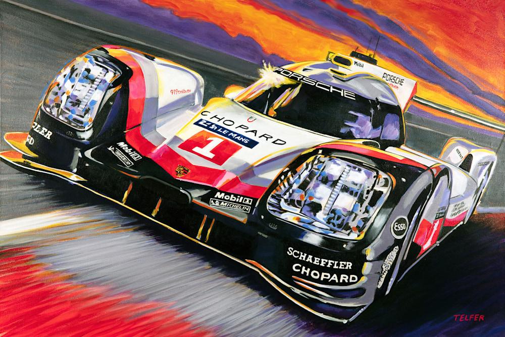 Porsche 919 Le Mans sm