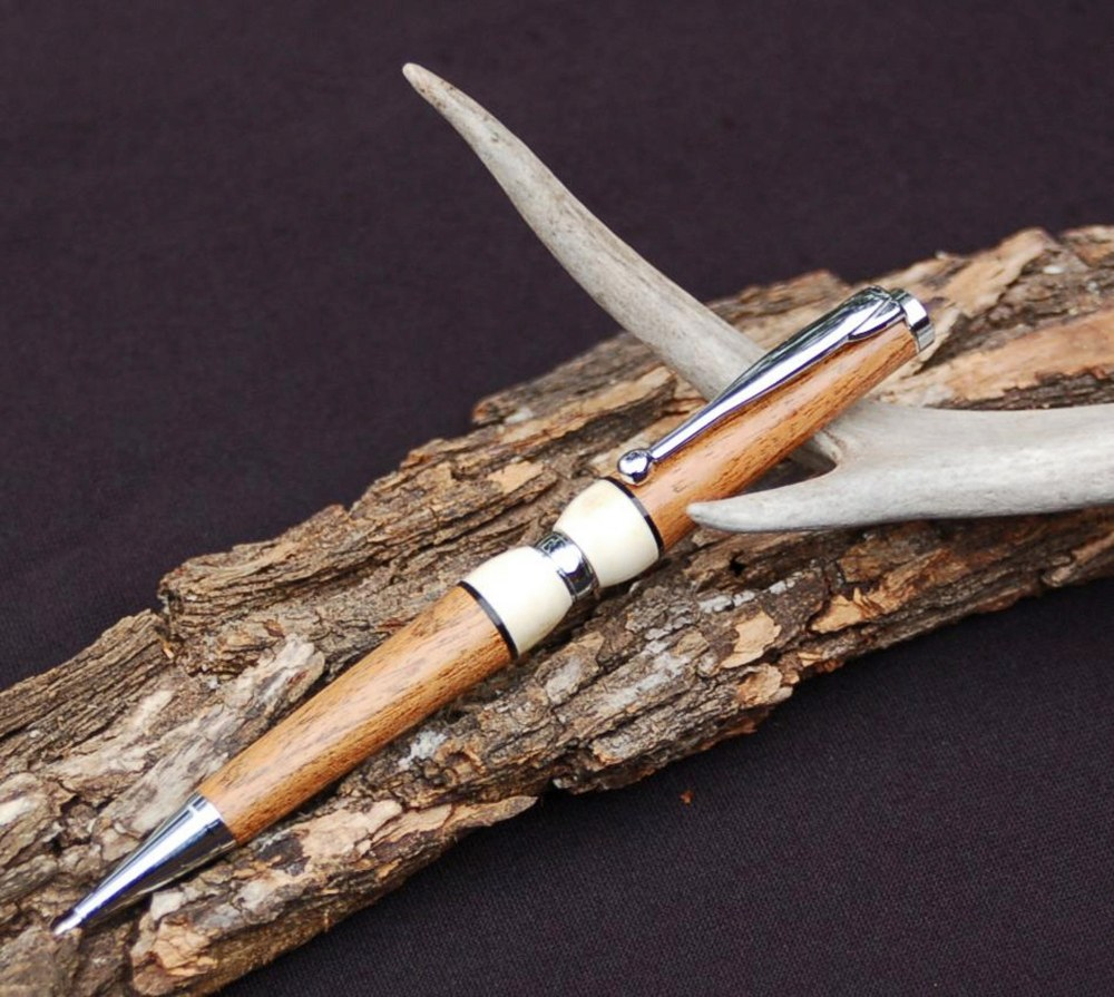 Mesquite and Antler Taking Texas with Me pen