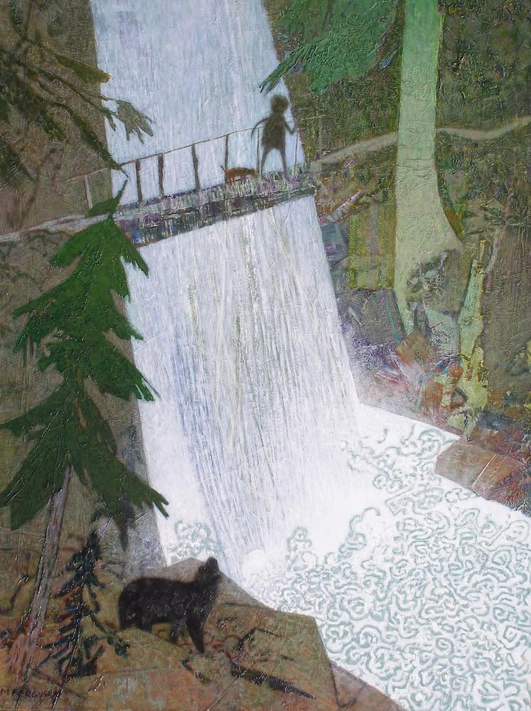 ferguson bear at the falls 1000