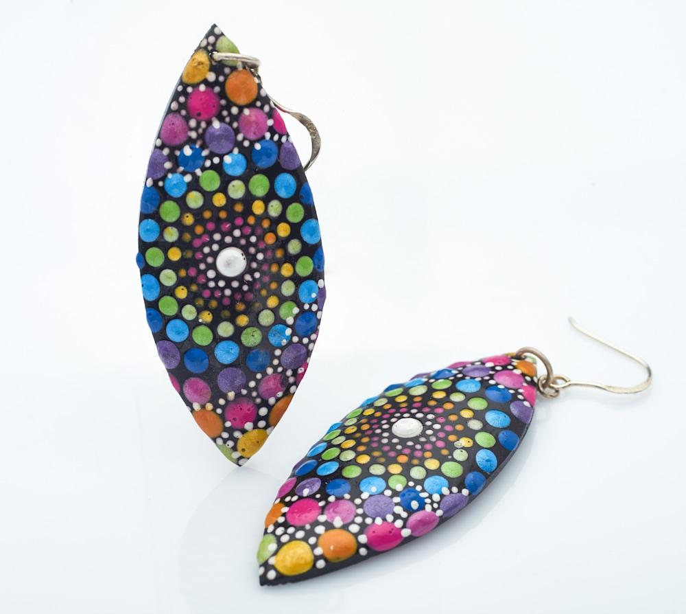 10A   Leaf Earrings (A)